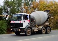 бетоносмеситель на шасси Mercedes-Benz #М284МХ163. Самара, Народная улица