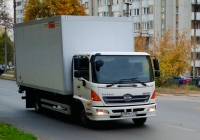 Фургон на шасси HINO 500 #Х589ЕУ163. г. Самара, ул. Киевская