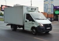 """Рефрежираторный фургон на шасси ГАЗ-A23R32 """"Газель Next"""" #Х672ТО163. г. Самара, Московское шоссе"""