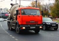 Бетоносмеситель на шасси КамАЗ-55102 #С724НР163. г. Самара, Московское шоссе