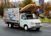 Бортовой грузовой автомобилльГАЗ-330202-288 #А596КВ763. г. Самара, Московское шоссе