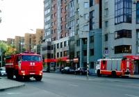 Пожарная автоцистерна АЦ-8,0-70(43118) на шасси КамАЗ-43118 #А506АУ763, Пожарная автоцистерна АЦ-3,2-40/4(5387)-014МС на шасси КамАЗ-5387 #Х931ВН163. Самара, Полевая улица