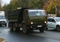 Самосвал КамАЗ-55111 #К334АМ163. Самара, улица Гагарина