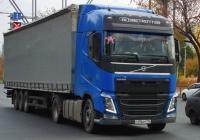 Седельный тягач Volvo FH12 #С496ХР174. г. Самара, Московское шоссе