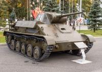 легкий танк Т-70 (танк). г. Самара, пл. им. В. В. Куйбышева