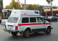 автомобиль скорой медицинской помощи на шасси ВАЗ-2131 #Р771УР163. Самара, Московское шоссе