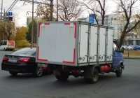 """хлебный фургон на шасси ГАЗ-3302-288 """"Газель-Бизнес"""" #А049АЕ163. г. Самара, Московское шоссе"""