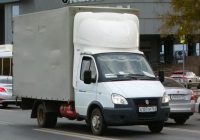 """Грузовой автомобиль ГАЗ-3302-288 """"Газель-Бизнес"""" #А137ОР763. г. Самара, Московское шоссе"""