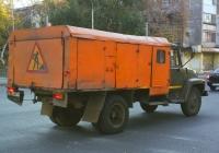 автомобиль коммунальной службы ГАЗ-3307 #Х057КР63. Самара, улица Мориса Тореза