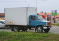 Фургон на шасси ГАЗ-3307* #Е499АВ63. г. Самара, Южное шоссе