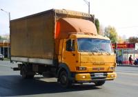 Бортовой грузовой автомобиль с тентом на шасси КамАЗ-4308 #А296ВС763. г. Самара, Московское шоссе