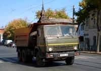 Самосвал КамАЗ-55111 #О527МС163. г. Самара, Арцыбушевская улица