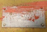 Заводская табличка кухни прицепной КП-130. Приднестровье, Тирасполь, территория Покровской церкви