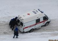 Автомобиль скорой медицинской помощи. Алтайский край, Барнаул, Павловский тракт