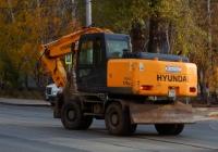 Hyundai Robex 170W-7 #О748СЕ63. Самара, улица Мичурина