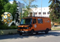 Цельнометаллический фургон Mercedes-Benz 307D #Х563УУ163. г. Самара, улица Мичурина