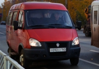 Микроавтобус ГАЗ-322130 #Т092СС163. г. Самара, ул. Мичурина