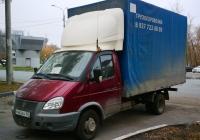 "Грузовой автомобиль ГАЗ-3302-288 ""Газель-Бизнес"" #Р462КН163. г. Самара, ул. Гагарина"