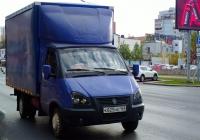 """ГАЗ-3302 (2007) с элементами """"Газель-Бизнес"""" #К825НЕ163. г. Самара, Московское шоссе"""