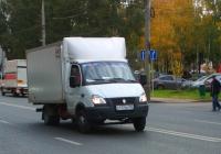 """Фургон на шасси ГАЗ-3302-288 """"Газель-Бизнес"""" #К117АК763. г. Самара, ул. Мичурина"""
