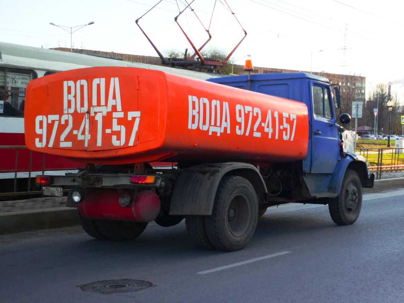 Коммунальная машина КО-713 на шасси ЗиЛ-4331* #О778ТМ163. г. Самара, ул. Ташкентская