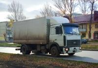Бортовой грузовой автомобиль МАЗ-5336 #О734ХМ152. г. Самара, Ново-Вокзальная улица
