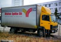 Фургон на шасси Mercedes-Benz 814 EcoPower #А262СУ21. г. Самара, улица Авроры