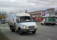"""Грузовые автомобиль ГАЗ-3302 """"Газель"""" #О619РС163 #Т032ВУ163. г. Самара, ул. Авроры"""