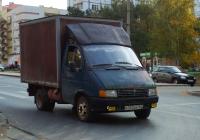"""Фургон на шасси ГАЗ-3302 """"Газель"""" #К352ВВ163. г. Самара, Киевская улица"""