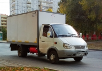 """Фургон на шасси ГАЗ-3302 """"Газель"""" #Е653ТК163. Самара, Киевская улица"""