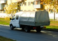 Бортовой грузовой автомобиль ГАЗ-33023-288 «Фермер» #У531ТО163. г. Самара, ул. Мяги