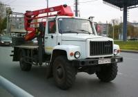 Автоподъёмник на шасси ГАЗ-3308 #М033ТМ163. Самара, Московское шоссе