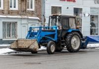 коммунальная машина на базе трактора МТЗ-80. г. Самара, ул. Некрасовская