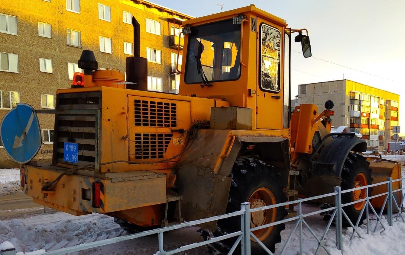Погрузчик Амкодор-342В №0189А99. Москва