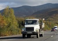 Самосвал ГАЗ-САЗ-35071 на шасси ГАЗ-3309 №Х 471 МА 51. Мурманская область, Кировск