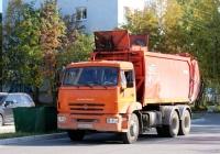 Мусоровоз КО-440-5 на шасси КамАЗ-65115 №Е 365 МХ 51. Мурманская область, Апатиты