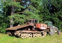 Трактор трелевочный ТДТ-55А №3867 ЕЕ 60. Псковская область, Великолукский район, Медведково