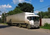 Седельный тягач Scania IV-series #АХ 4799 AI. Харьковская область, г. Харьков, Немышлянская улица