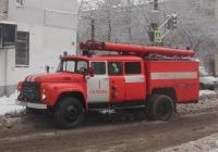 пожарная автоцисцерна АНР-40(130)-127Б на шасси ЗиЛ-4314 #О007КУ163. г. Самара, ул. Волгина