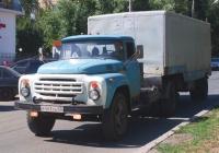 Седельный тягач ЗиЛ-441510 с полуприцопом ОдАЗ-885 #Р563СЕ63. г. Самара, ул. Революционная
