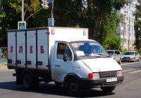 """Фургон для перевозки хлеба на шасси ГАЗ-3302 """"Газель""""  #Х075РЕ63. г.Самара, ул. Коммунистическая"""