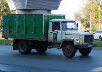 Фургон для перевозки хлеба на шасси ГАЗ-3309  #Р596ВО63. г. Самара, ул. Гагарина