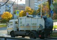 Мусоровоз КО-440-4К1 на шасси КамАЗ-4308  #В071ВХ82. г. Самара, Волжский проспект