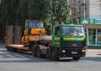 Седельный тягач МАЗ-6422  #О666МТ163. г. Самара, ул. Полевая