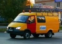"Машина газовой службы на базеГАЗ-27057 ""ГАЗель-Комби""  #В681АС82. Самара, улица Мяги"