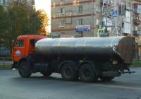 Цистерна для перевозки питьевой воды на шасси КамАЗ-53229  #Н793МА163. Самара, улица Мориса Тореза