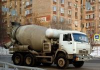 Бетоносмеситель ТЗА-581462 на шасси КамАЗ-53229  #В297ЕВ763. г. Самара, ул. Киевская