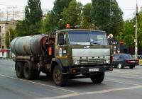 Илососная машина на шасси КамАЗ-55102  #С321ХУ163. г. Самара, ул. Авроры