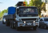 Седельный тягач с кран-манипуляторной установкой ISUZU EXZ  #С639ТМ163. г. Самара, пр. Кирова