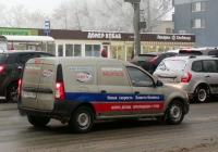 Цельнометаллический фургон LADA Largus F90  #Т934ХС163. г. Самара, Московское шоссе